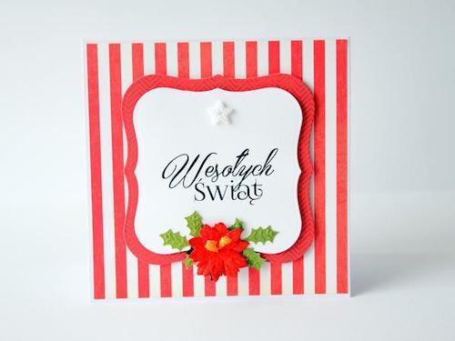 Niepowtarzalne kartki na święta Bożego Narodzenia