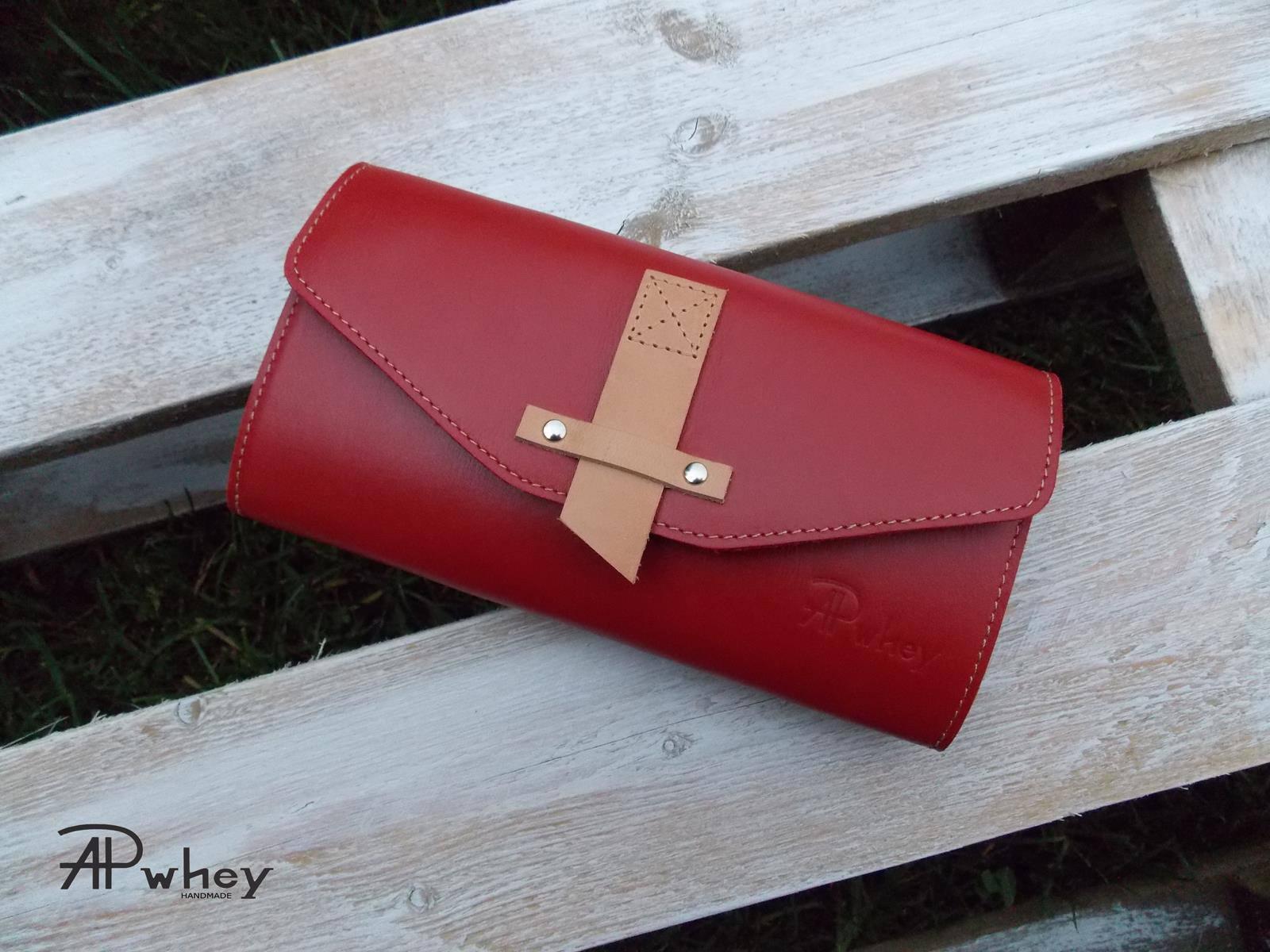 e8a963252718d Portfel damski skórzany, czerwony | Sklep internetowy Handmade Mała ...