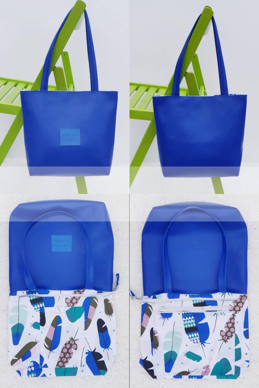 17c42c2a6cfa7 Mała torebka ze skóry ekologicznej Sylvie de Lux | Sklep internetowy ...