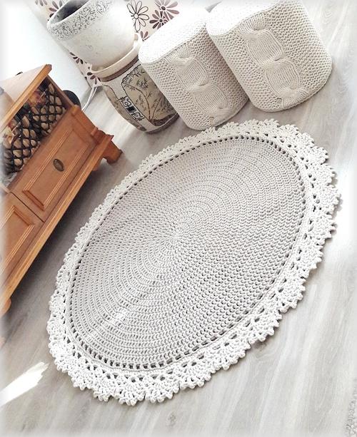 Dywan sznurkowy – classic lace 100cm