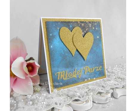 Ślubna kartka w kopercie 06