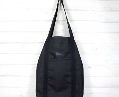 Wegańska torba shopperka Premium czarna