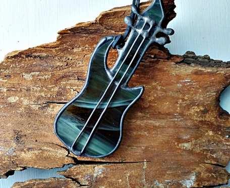 Wisior Gitara elektryczna