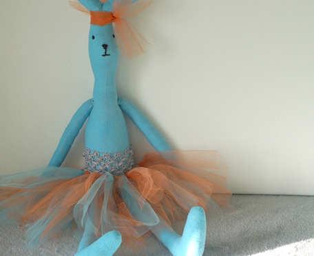 Przytulanka baletnica