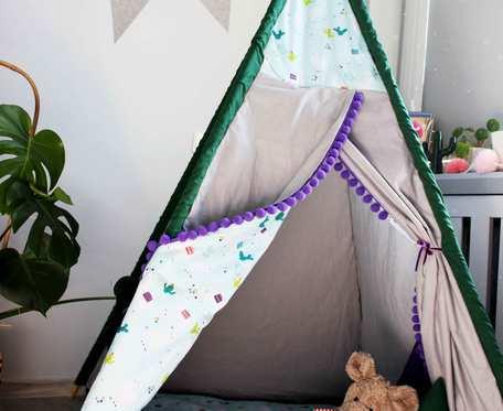 Namiot Tipi Teepee w lamy