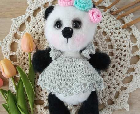 Szydełkowa panda