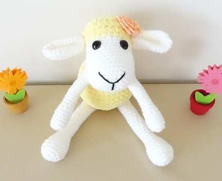 Owieczka - przytulanka