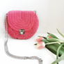 Różowa torebka Oreo