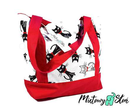 Eko Torba / Shopper bag ~ 100%bawełna ~ koty