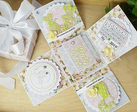 Pudełko ślubne - Romantyczne kwiaty
