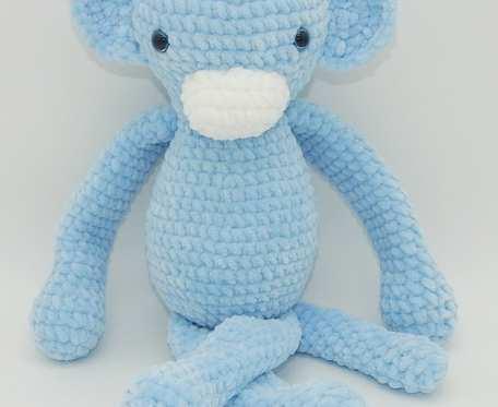 Niebieska małpka