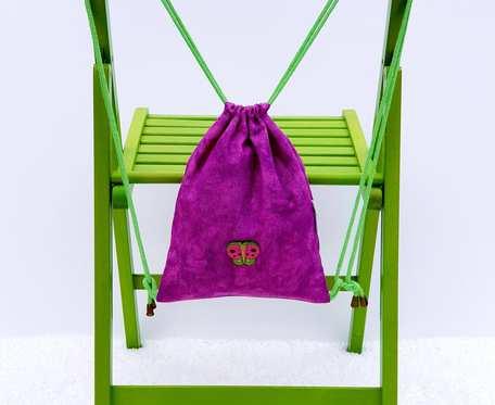 Plecak – Worek dla dzieci różowy z motylem