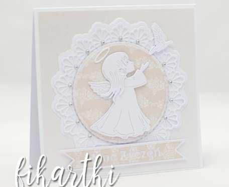 Kartka z okzaji przyjęcia Pierwszej Komunii Świętej KK2004