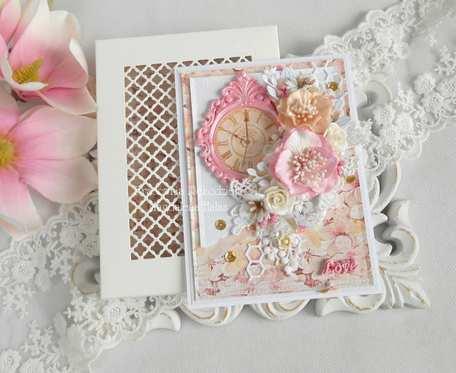 Ślubna kartka A6 w pudełku 141