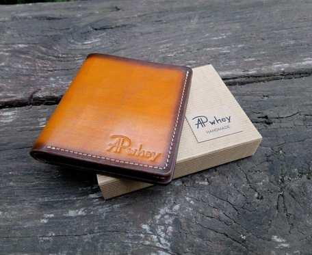 Kompaktowy portfel męski z juchtem