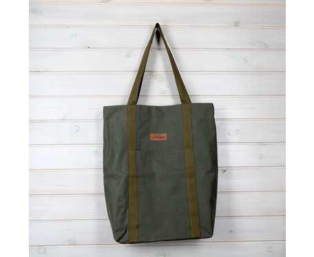 Wegańska torba shopperka Premium oliwka