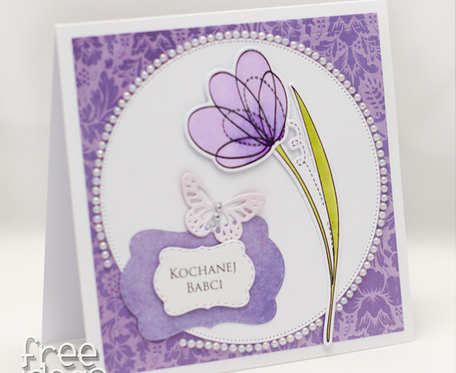 Kwiatek dla kochanej Babci KDB1901