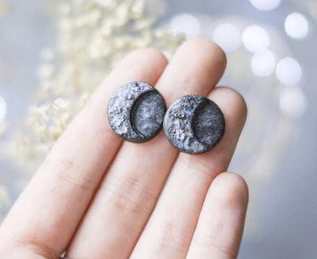 Kolczyki księżyce