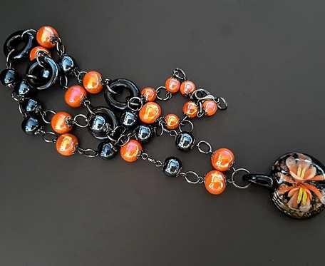 Naszyjnik w Pomarańczach