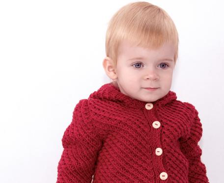 Sweter Czerwony kapturek Merynos Dziecięcy