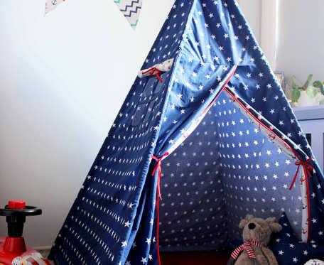 Namiot Tipi Teepee w gwiazdki