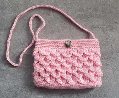 Różowa torebka dla dziewczynki