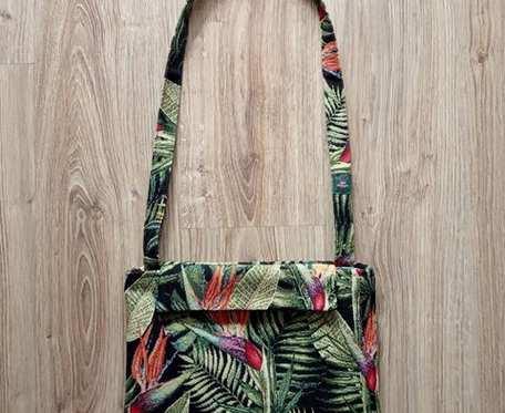 HandMade - wiosenno-letnia torebka na ramię