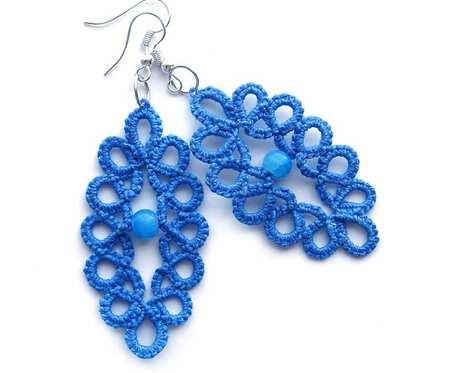 Niebieskie frywolitki# niebieski