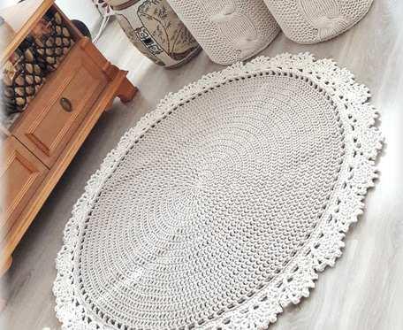 Dywan Sznurkowy - Classic Lace 100 cm