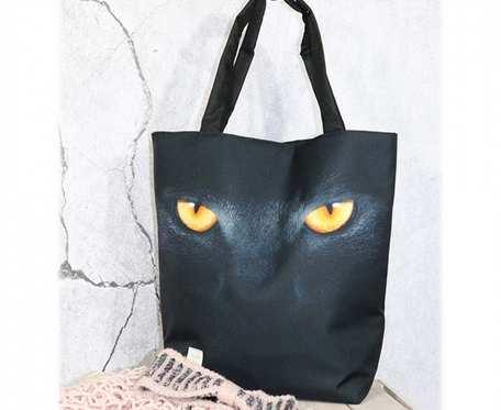 Torba shopper dziki kot