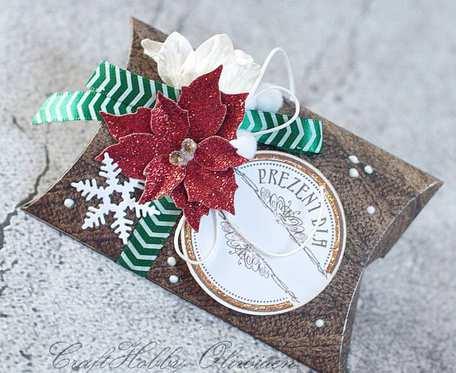 :Pudełeczko na świąteczny upominek II