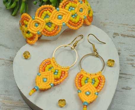 Sunny - komplet biżuterii w kolorach lata