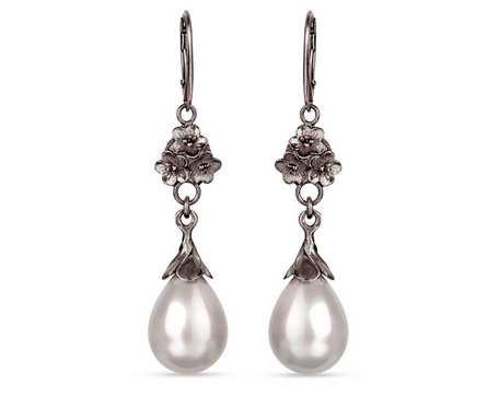 Kolczyki z perłami Seashell Liliana a780