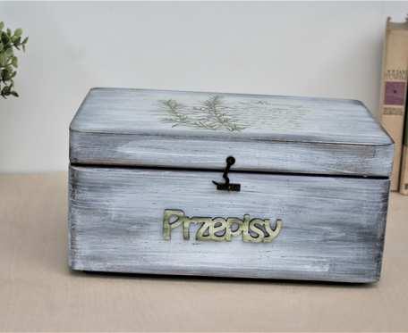 Pudełko na przepisy