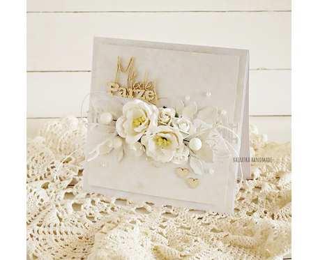 Kartka ślubna w pudełku, 587