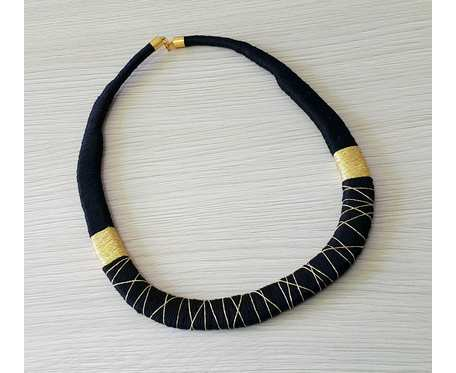 Kolia czarno-złota