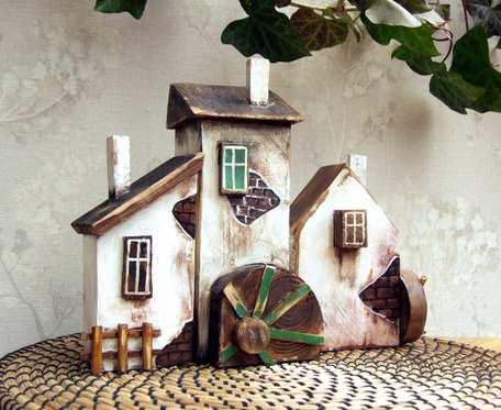 DOM MŁYNARZA - 3 domki dekoracyjne