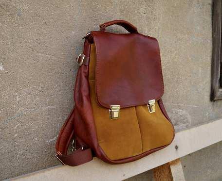 LILITH CHIMERA plecak/torba  kasztan/rudy