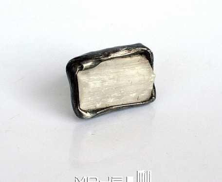 Księżycowy promień w kawałku - pierścionek