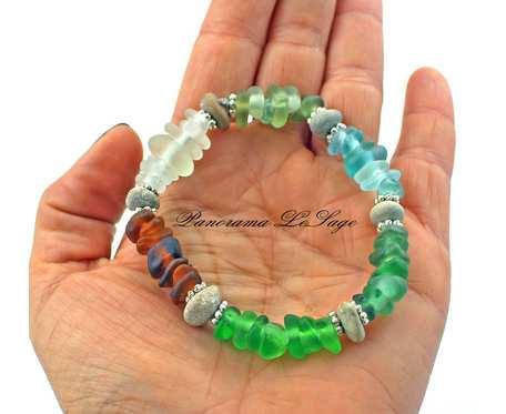 Sea Glass Bransoleta 11
