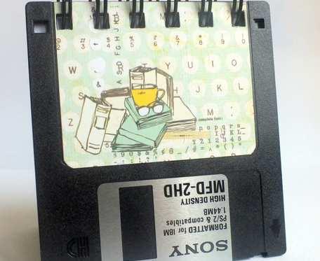 Notes floppy disk