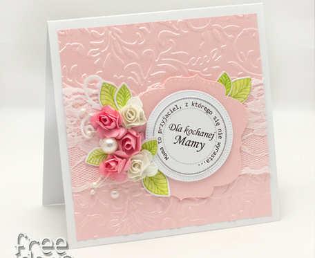 Perłowy róż - na Dzień Matki KDM19001