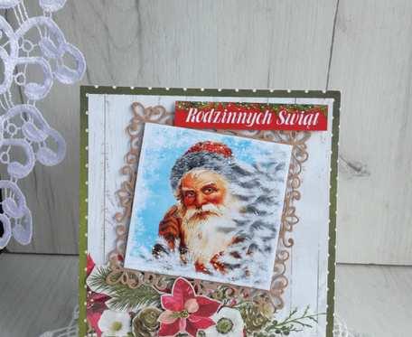 Kartka świąteczna Magiczny Czas 1 GOTOWA