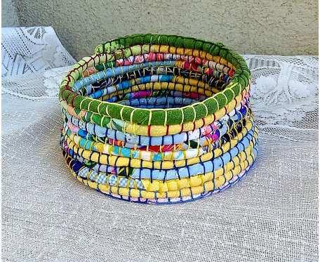 Koszyk tekstylny