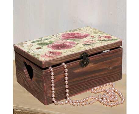Kufer z sercem