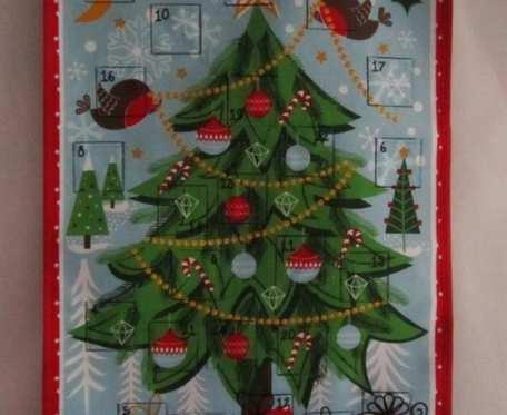 Kalendarz adwentowy - choinka
