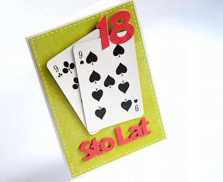 KARCIANA KARTKA NA 18
