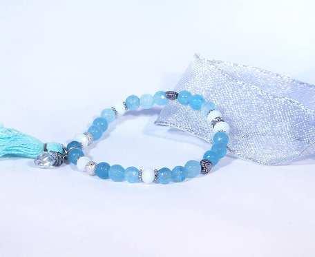 Agaty błękitne