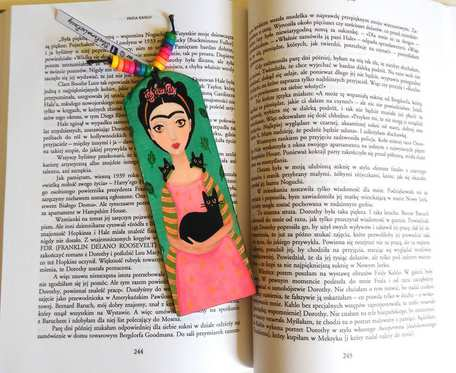 Zakładka do książki - Frida