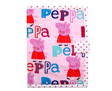 Okładka na książeczkę zdrowia dziecka Peppa